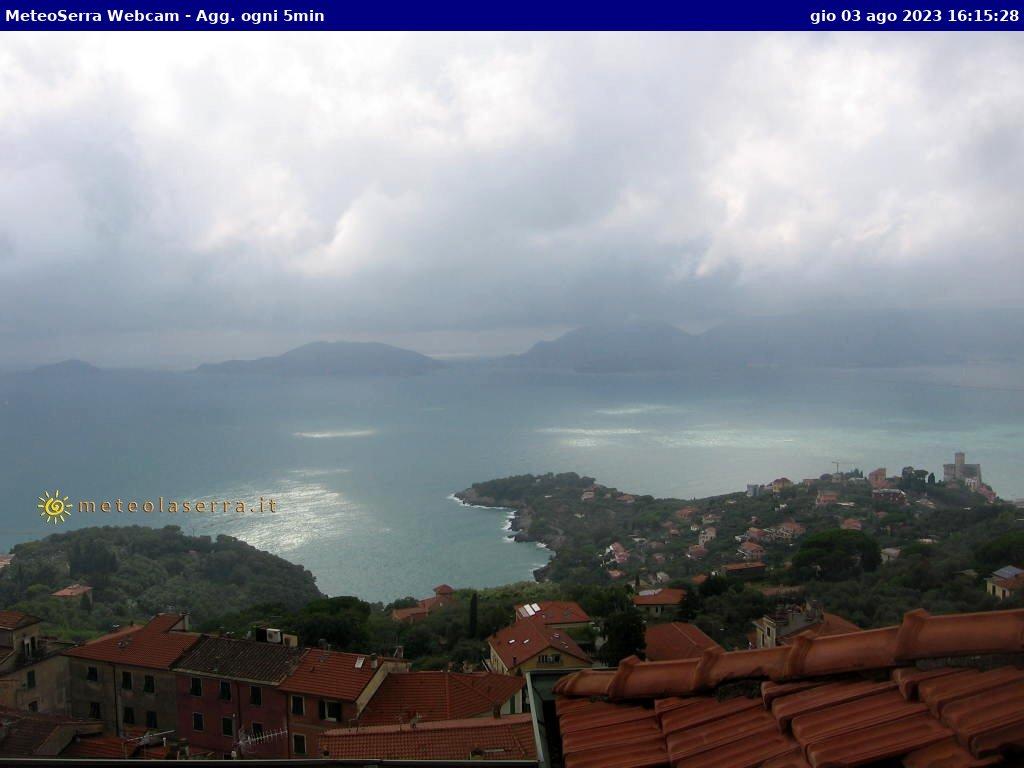 Lerici - vue sur La Spezia