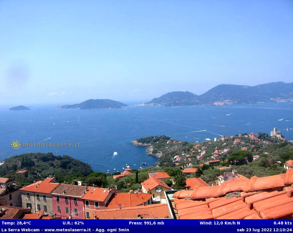WebCam sul Golfo