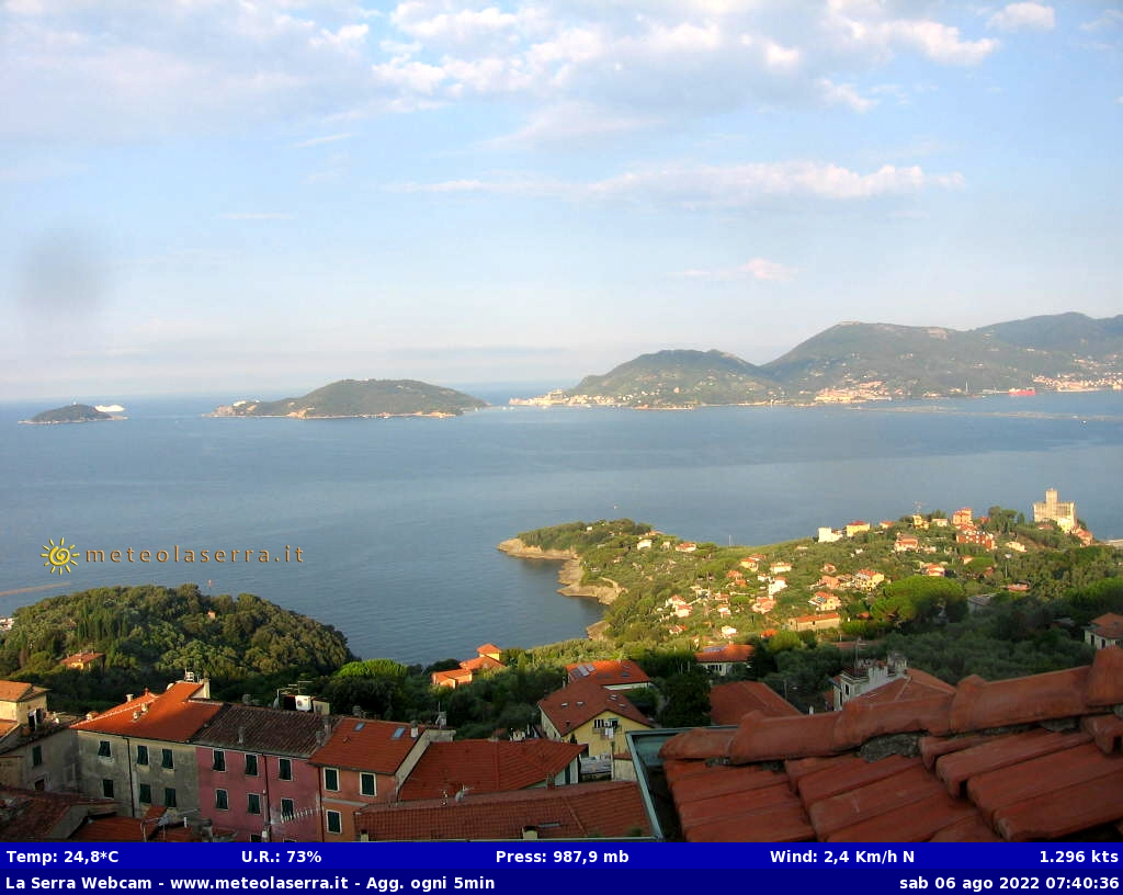 Webcam La Serra Lerici (SP)