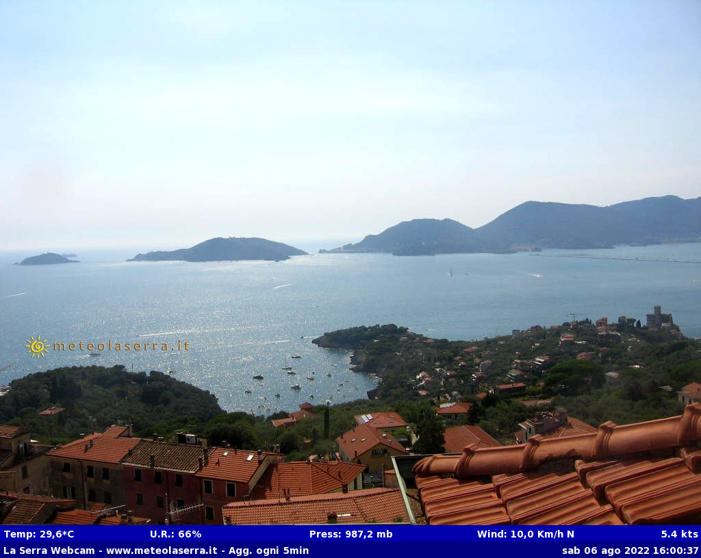 Webcam a Lerici (SP)