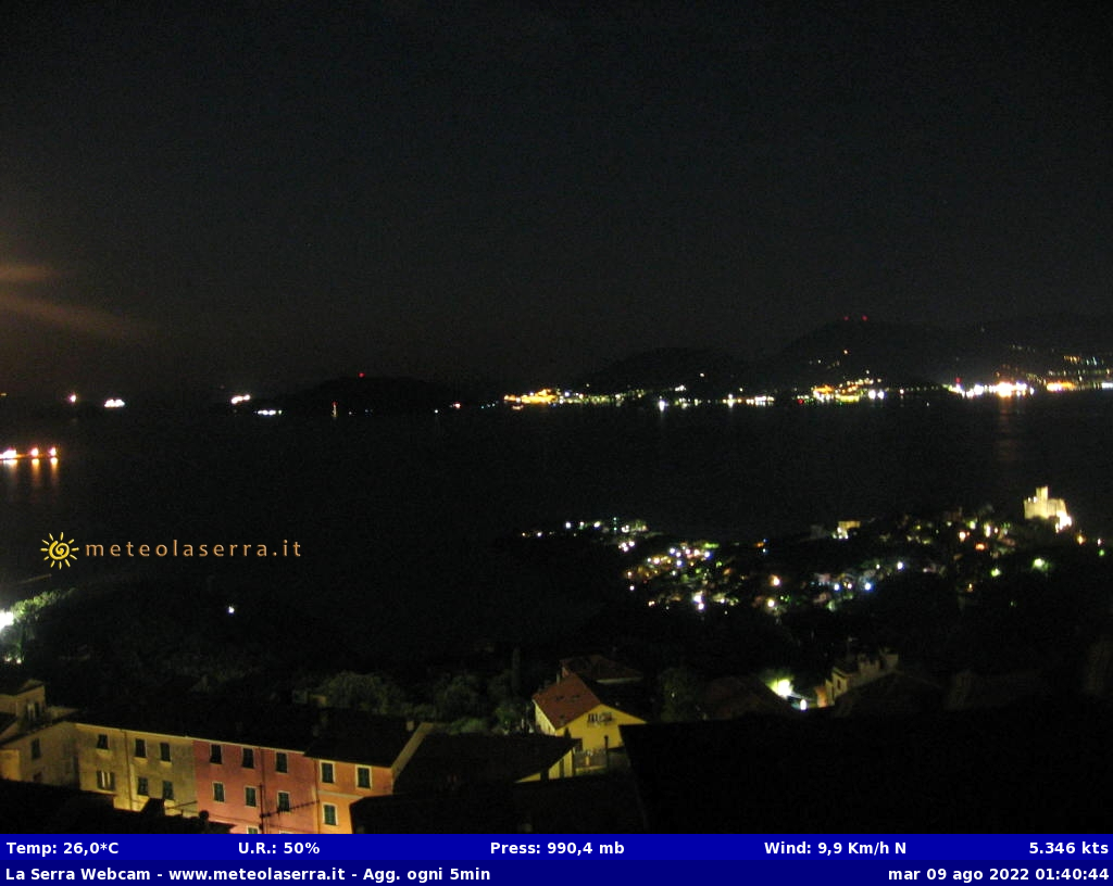 Webcam a Lerici