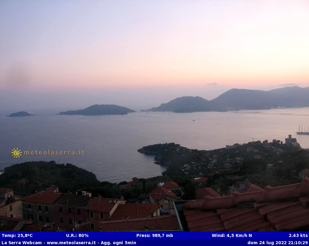 webcam la serra - lerici